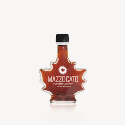 Mazzocato Pure Maple Syrup Maple Leaf 100mL
